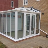 white lean-to conservatories Stevenage