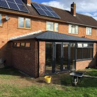 Tiled Extension Roof