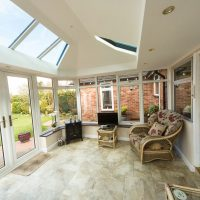 Ultraframe Livinroof Brick Extension Stevenage
