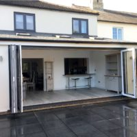 open bi-fold doors Stevenage