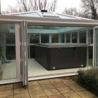 open out bi-fold doors Stevenage
