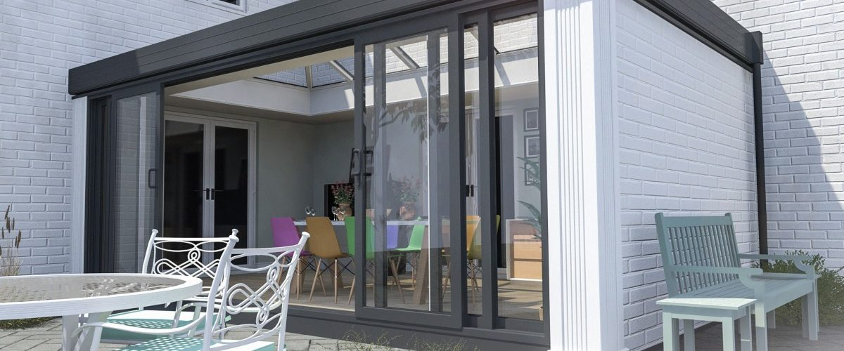 Patio Doors on conservatory