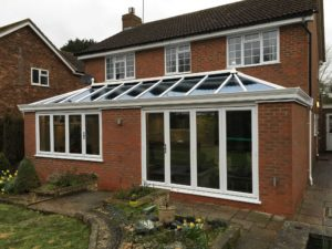 Brick Orangery with Bi-Fold Doors, Hertfordshire