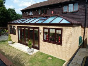 Double Glazed House Extension