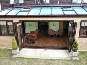 Glass Roof Extension