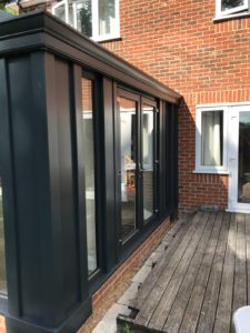 Super Insulated Collumns Loggia, Stevenage