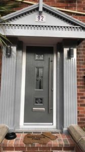 Modern Front Door, Stevenage