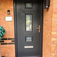 Grey Composite Door, Hertfordshire