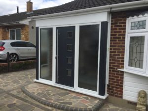 Modern Composite Door, Hertfordshire