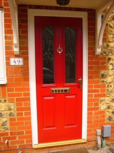 Red Composite Doors, Hertfordshire
