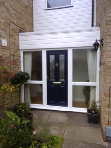 Blue Composite Doors, Stevenage