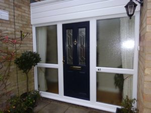 Glazed Composite Front Doors
