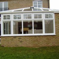 Edwardian Conservatory with uPVC Windows, Biggleswade Bedfordshire