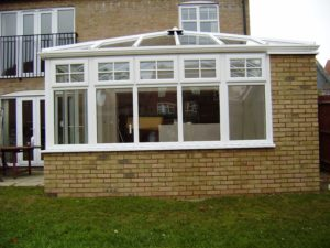 Edwardian Conservatory with uPVC Windows, Stevenage