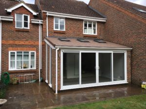 Orangery with Patio Doors, Hertfordshire