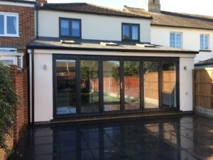Kitchen Extension with Bi-Fold Doors, Baldock