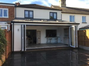 Insulated House Extension, Baldock