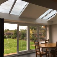 Solid Roof With Glazed Panels, Stevenage