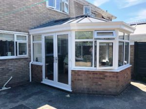 Glass Conservatory with Livinroof, Stevenage