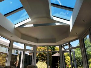 Replacement conservatory Roof, Hertfordshire