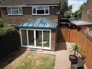Solid Roof Glazed Extension, Stevenage