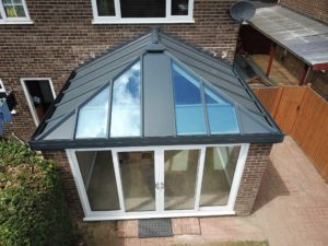 Livinroof Home Extension with Patio Doors, Stevenage