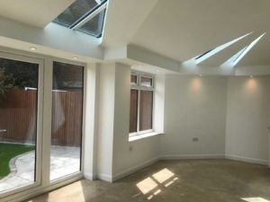 Internal Finish of House Extension, Stevenage