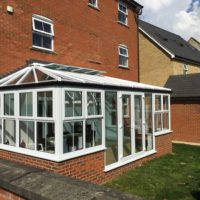 uPVC Windows in Conservatory for Biggleswade Homeowner