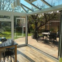 Open Bi-Fold Doors, Stevenage