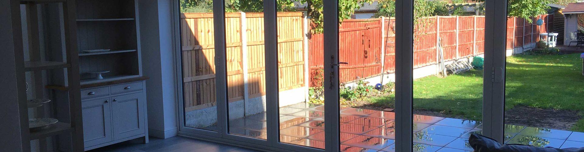 Bifold Door Installations in Bedfordshire