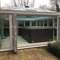 Biggleswade home with Bifold Doors