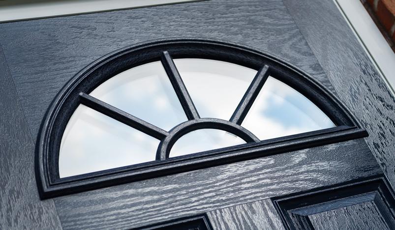black composite doors biggleswade