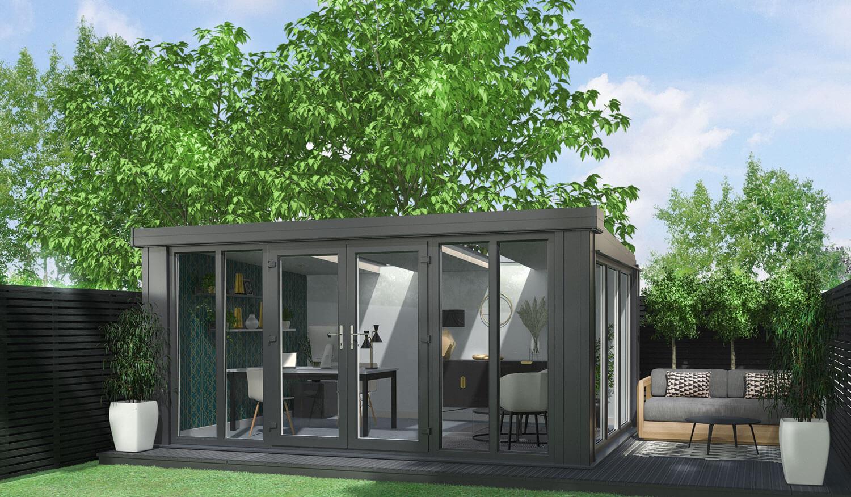 modern garden office stevenage